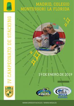 IV Torneo stacking de Madrid, 2019