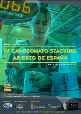 IV CAMPEONATO STACKING ABIERTO DE ESPAÑA 2017