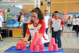 Momento del mundial en Alemania, equipo de España